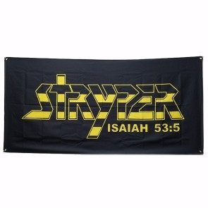Stryper Wall Flag