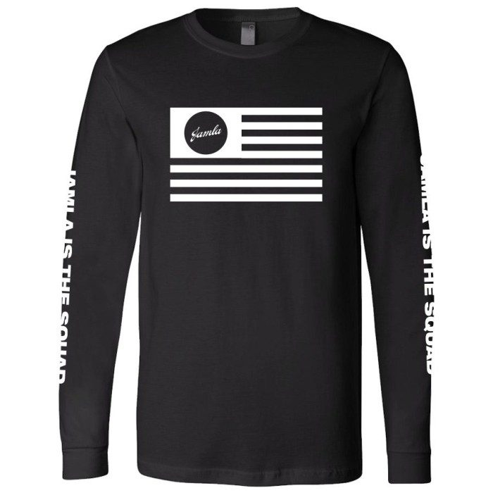 Jamla Flag Long Sleeve T