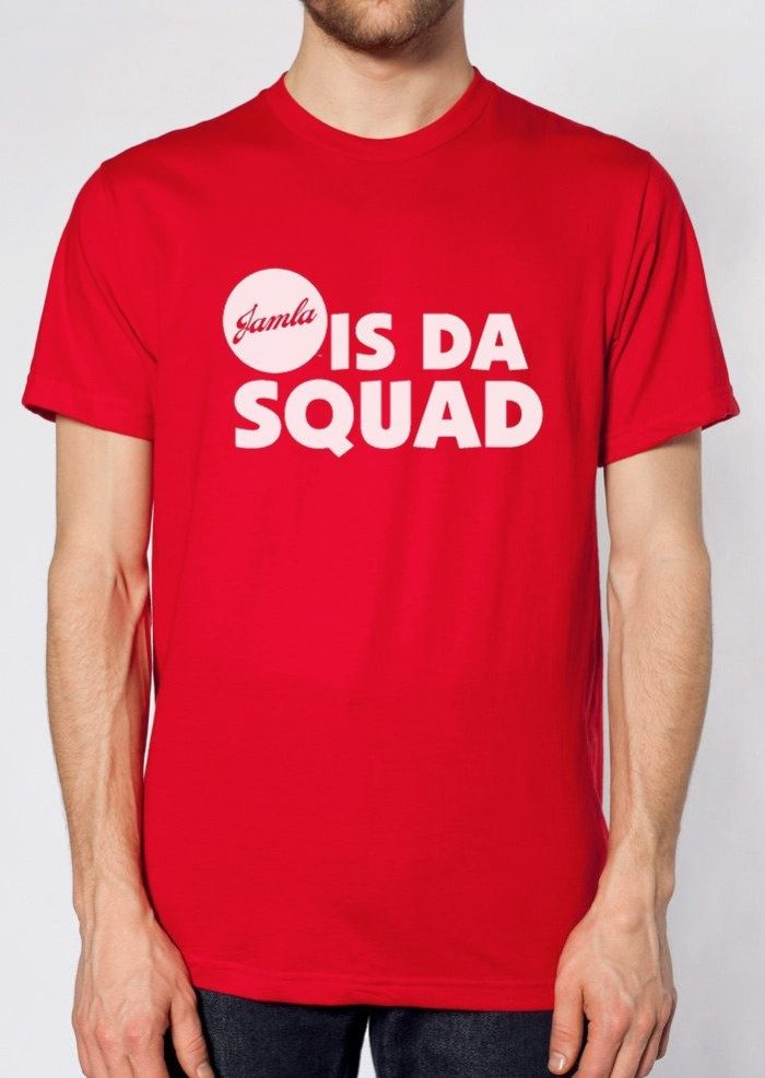 Jamla Is Da Squad T, Red