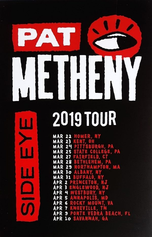 Side Eye Spring Tour 2019 Poster