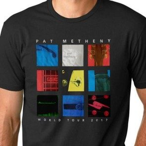 Pat Metheny 2017 Tour T - Black