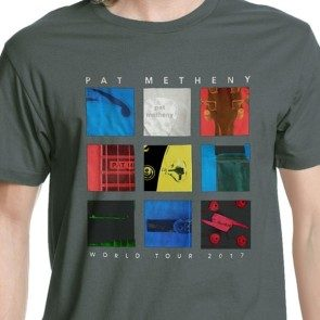 Pat Metheny 2017 Tour T - Grey
