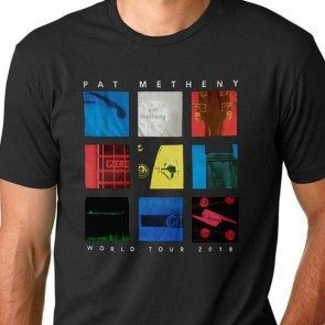 Pat Metheny 2018 Tour T - Black