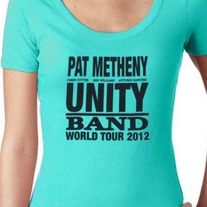 Women's Unity Tour 2012 T Teal