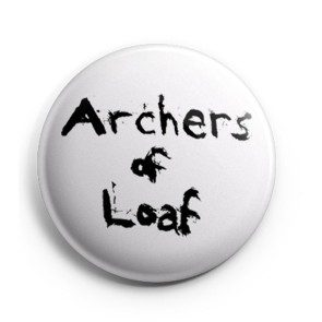 Archers of Loaf Splatter Logo Button