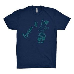 Scribbled Man T, Navy