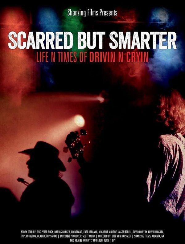 Scarred But Smarter: The Life n Times of Drivin N Cryin  DVD