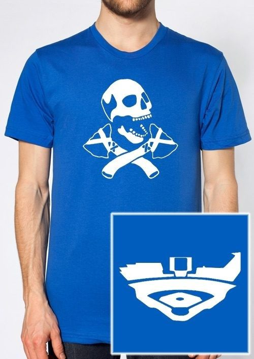 Blue Skull and Tomahawk T