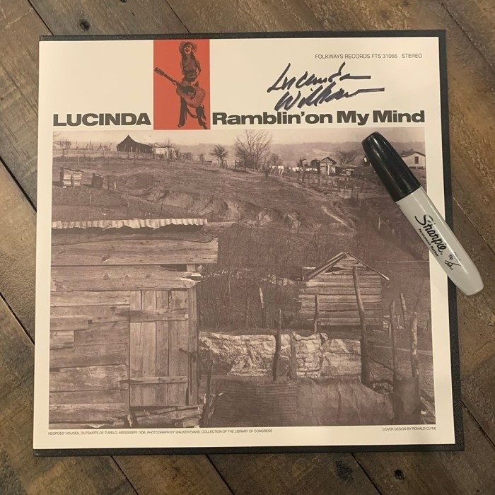 Ramblin' On My Mind LP (Autographed option available)