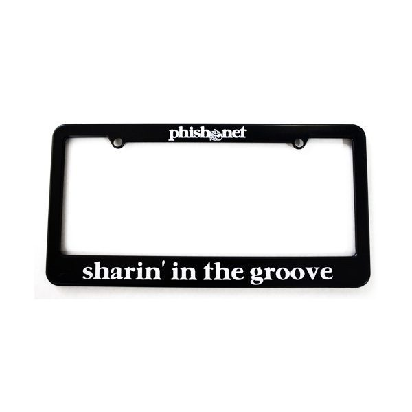 Sharin' in the Groove License Plate Frame