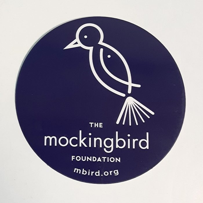 Mockingbird Foundation Static Cling Decal