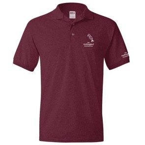 Embroidered Mockingbird Polo Shirt