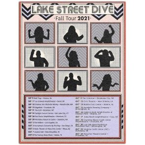 Lake Street Dive Fall Tour 2021 Poster (Autographed)