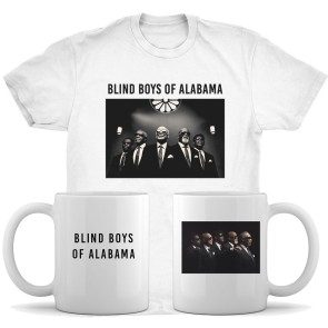 Blind Boys of Alabama T-shirt, Mug, and CD Bundle