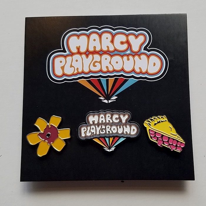 Marcy Playground Enamel Pin 3-Pack