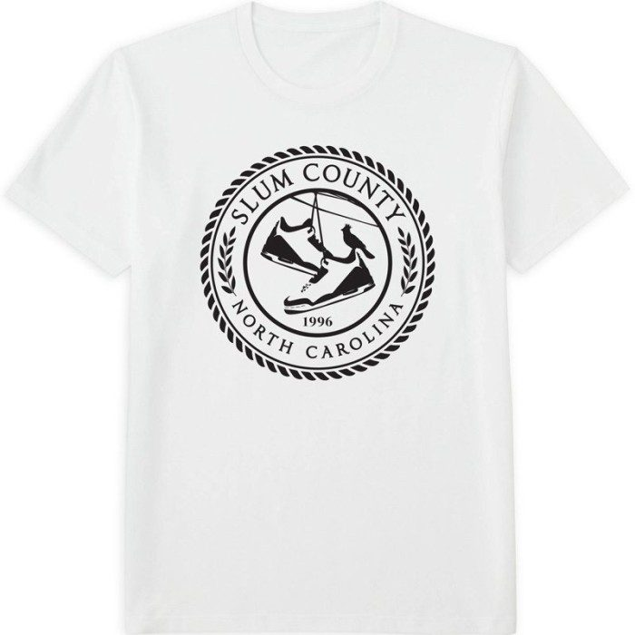Slum County Seal T White