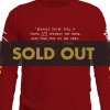 Lute Long Sleeve Tour T, Red
