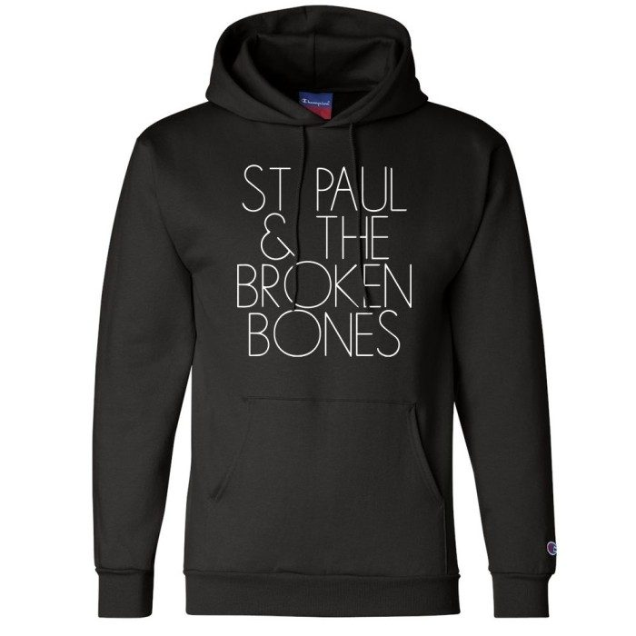 St. Paul Champion Pullover Hoodie with Glow In The Dark Ink