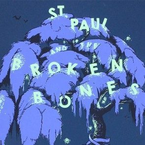 POSTER - St. Paul & the Broken Bones - Chautauqua Auditorium 2017