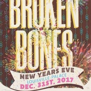 POSTER - St. Paul & the Broken Bones - New Years Eve (Fireworks) 2017