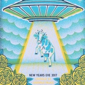 POSTER - New Years Eve (Spaceship) 2017