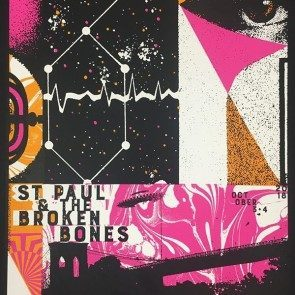POSTER - St. Paul & the Broken Bones - Brooklyn - October 2018