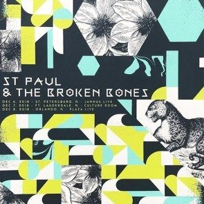 POSTER - St. Paul & the Broken Bones - Florida - Dec 2018