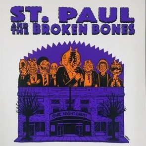 POSTER - St. Paul & the Broken Bones - Toronto - October 2018