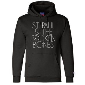 St.Paul Champion Pullover Hoodie with Glow In The Dark Ink