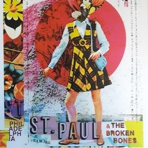 POSTER - St. Paul & the Broken Bones - Philadelphia - February 16, 2019