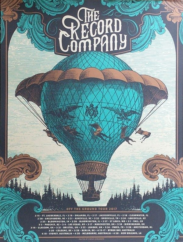 Off The Ground Tour 2017 Poster
