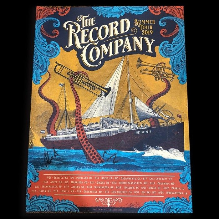 The Record Company Summer 2019 Tour Poster (Autographed Version Available)