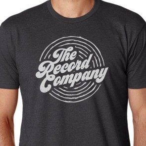 The Record Company Circle Logo T, Charcoal