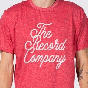 The Record Company Script Logo T