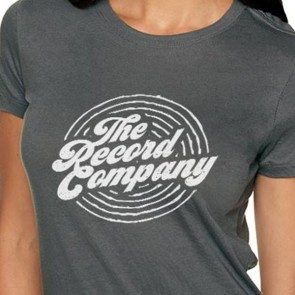 Women's TRC Circle Logo T, Grey