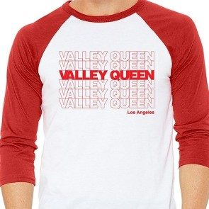 Valley Queen Stacked Logo Raglan T