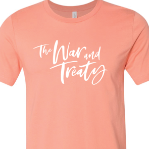 The War and Treaty Cursive Logo T Sunset