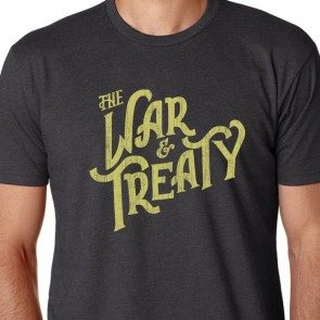 The War and Treaty Logo T Charcoal