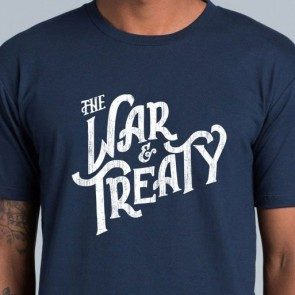 The War and Treaty Logo T Navy