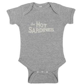 The Hot Sardines Onesie