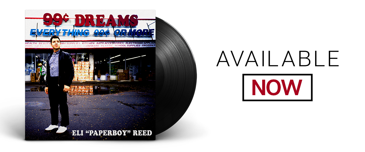 Eli Paperboy Reed Online Store